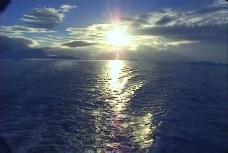 夕阳视频素材