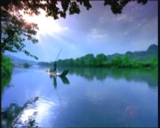 湖泊航拍素材下载