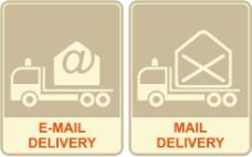 矢量图电子邮件
