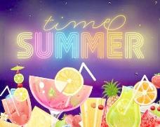 夏季夏天盛夏旅游图标图片