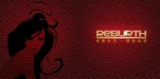 中国红色封面设计