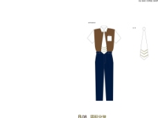 vi手册 男服装设计图片