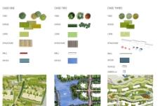 建筑设计总平面图素材图片