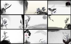 古典水墨中国风元素