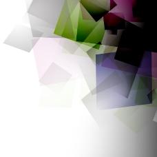 梦幻抽象几何背景