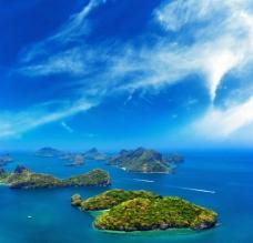 美丽岛屿 海图片
