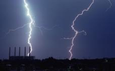 闪电与天空图片