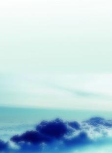 云海封面背景图图片