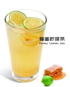 夏季蜂蜜柠檬茶图片