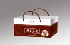 茶叶手提袋(展开图)图片