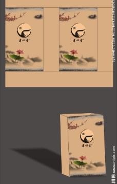 茶手提袋图片