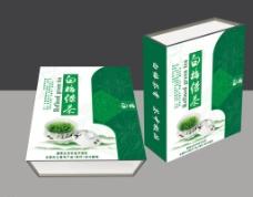 白梅绿茶(展开图)图片