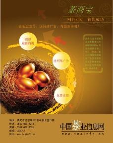 茶叶网站海报宣传图片