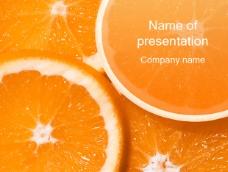 橙子ppt模板