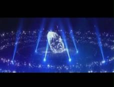 钻石灯光舞台背景视频