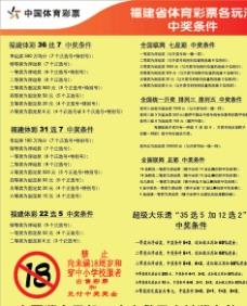 闽体彩兑奖2014版图片