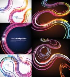彩色科技背景