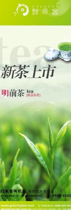 绿茶高档设计图片