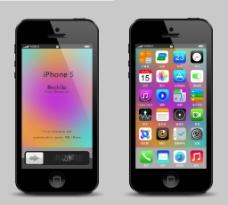iPhone5 界面图片