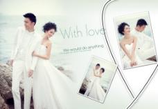 婚纱摄影模板PSD图片