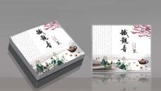铁观音茶叶包装盒(展开图)图片