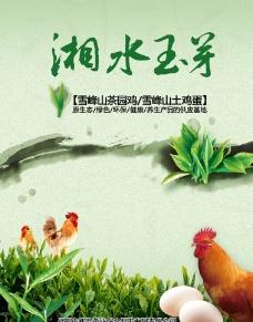 茶行海报图片