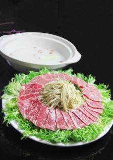 安格斯牛肉图片