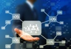 白领未来科技商务商业图片