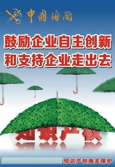 知识产权海报图片