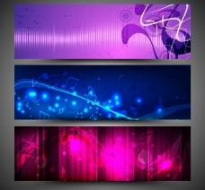 动感光线 音符图片