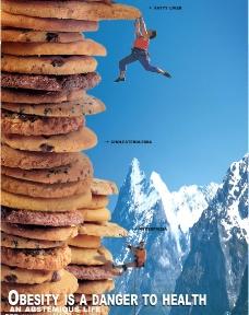 饼干创意创新海报图片