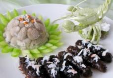 创新菜海参菌菇煲(非高清)图片