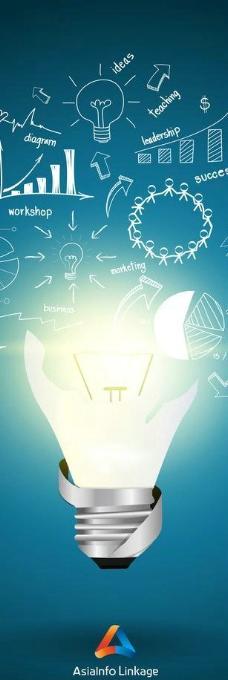 节能 灯泡 创意图片
