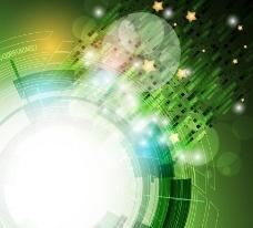 绿色科技背景图片