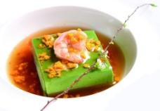 鲜虾翡翠豆腐图片