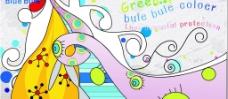 抽象创新墙面图片