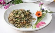 苔菜白虾图片