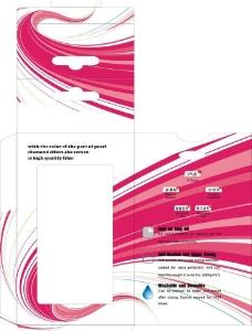 手机膜包装设计图片