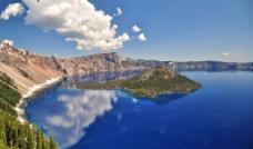 美丽湖泊景观图片