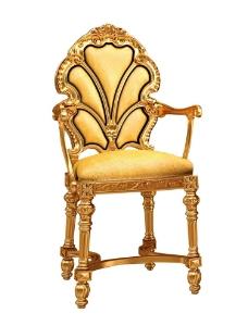 金色椅子图片