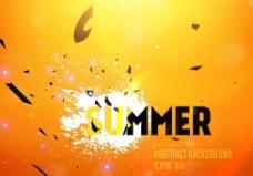 夏季梦幻背景图片