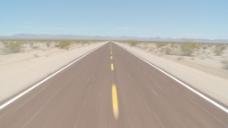 在沙漠公路股票视频驱动 视频免费下载