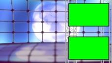 随着绿色屏幕的虚拟集纺纱地球背景设置 视频免费下载
