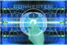 金融商业 科技抽象背景