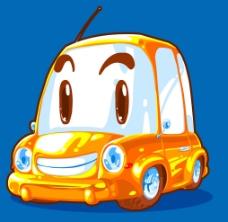 黃色小車圖片
