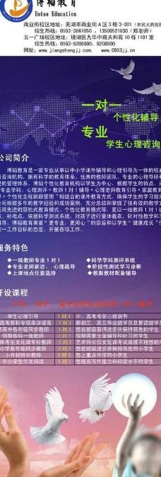 博韬教育x展架图片
