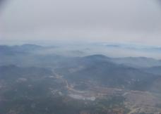 大气山河图片