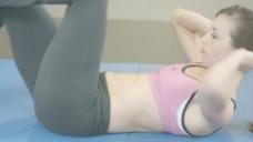 女人做腹部运动股票视频 视频免费下载