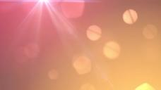 橙色的大耀斑粒子运动的背景 视频免费下载