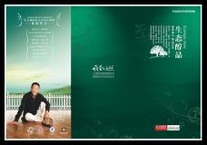 绿色折页封面